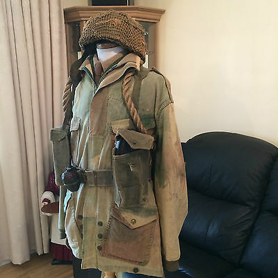 WWII British Airborne Troops denison smock uniform with extras