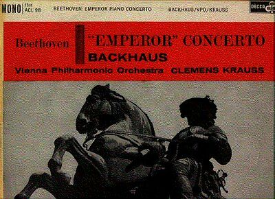 ACL 98, BEETHOVEN Emperor Piano Conc 5 BACKHAUS KRAUSS