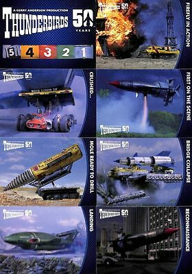2015 Unstoppable Thunderbirds 50 Years 54 Card Base Set+ Empty Box + Wrappers