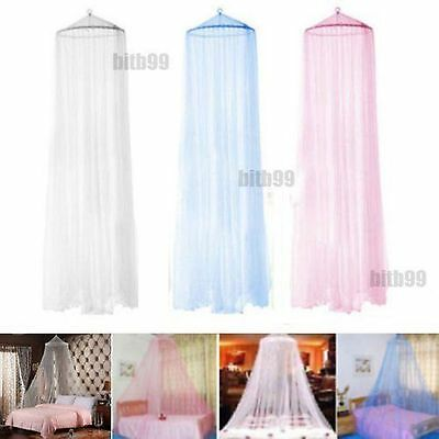 New Elegant Round Lace Insect Bed Canopy Netting Curtain Dome Mosquito Net#JY~