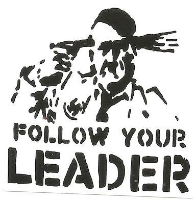 50 Follow your leader Aufkleber stickers Punk GNWP Anti Nazi Gegen Nazis Raus