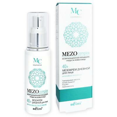 MEZOcomplex Anti-Aging Tagescreme mit Hyaluronsäure, Taurin & Glycin 40+, 50ml