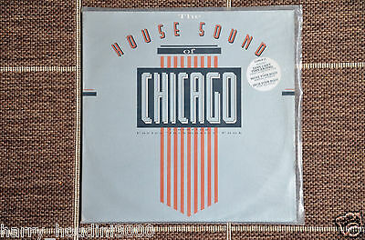 """THE HOUSE SOUND OF CHICAGO - Various Artists - 12"""" Record VINYL LP - Original"""