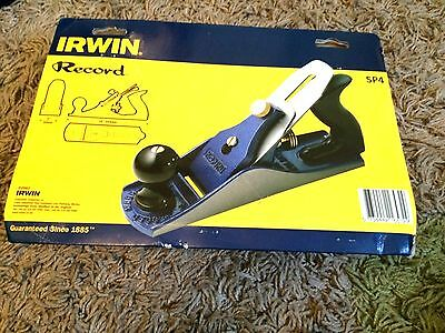 Irwin Record SP4 Smoothing Plane 2in