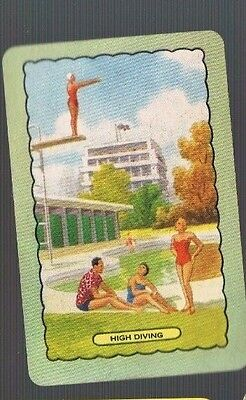 Playing Swap Cards 1 Single  Coles  NAMED  HIGH  DIVING   #442