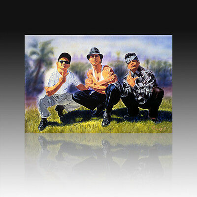 VATOS LOCOS I 75x50cm I POSTER I ADAN HERNANDEZ I BLOOD IN BLOOD OUT *plakat