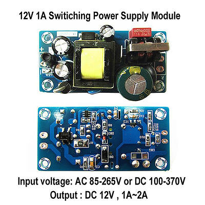 DC12V 2A 12W Low Ripple Switching Power Supply Board Converter Module AC 85-265V