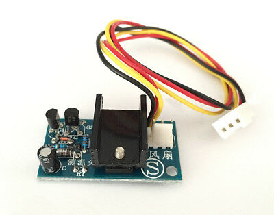 DC 12V 1A Automatic PC CPU Smart Fan Temperature Control Speed Controller Sensor