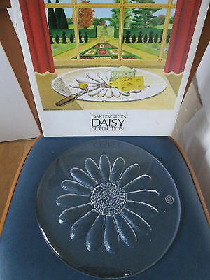 Dartington Daisy Cheese Platter Plate FT215 Frank Thrower with Box
