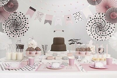 Kindergeburtstag SET Motto Party Rosa Pink Sweets Kinderparty Party