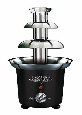 Metallic Black Chocolate Fountain from Gourmet Gadgetry