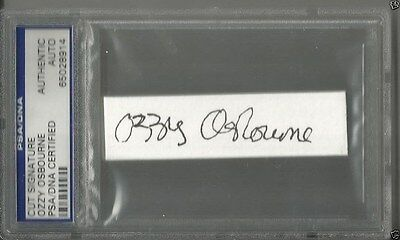 Black Sabbath / Ozzy Osbourne / Genuine Autograph / Psa / Dna Certified / Slab