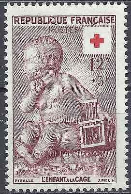 France Croix Rouge Red Cross N°1048 Neuf ** Luxe Gomme D'origine Mnh