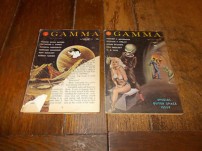 Gamma 4 Science Fiction Magazine Vol. 2 No. 2 - RARE - Special Outer Space Issue
