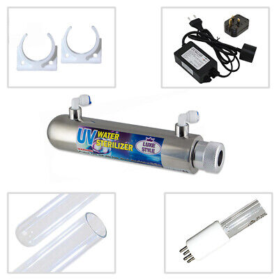 11W (4LPM) Ultra Violet UV Water Treatment Systems