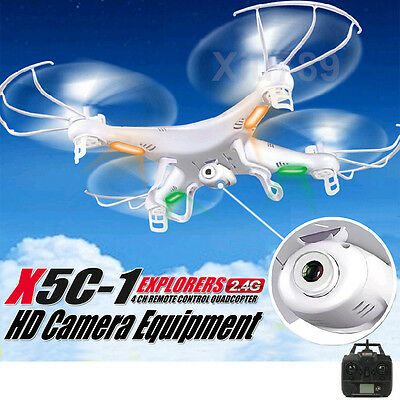 New X5C-1 2.4Ghz 6-Axis Drone RC Quadcopter FPV aircraft Gyro with 2MP Camera