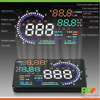 """A8 5.5"""" Head Up Display OBD2 Windscreen Dashboard Projector For Ford F150 F250"""