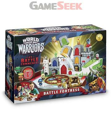 World Of Warriors Battle Fortress Playset - Games/puzzles Tabletop Brand New