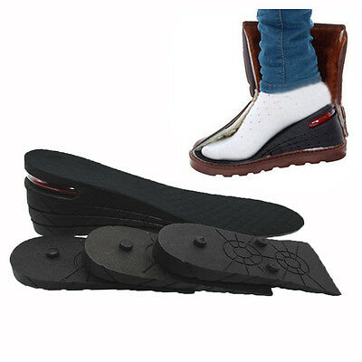 Unisex Increase Insole 1-4 Layer Height Heel Lift Shoe Air Cushion Pad Taller  タ