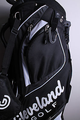 New Cleveland Deluxe Stand Bag 11 Way Divider Golf Bag Black