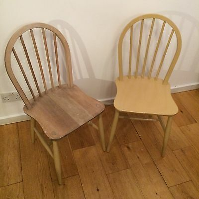 Pair Of Vintage Mid Century Ercol Chairs