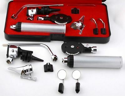 Ophthalmoscope Otoscope Diagnostic ENT Set CE Mark