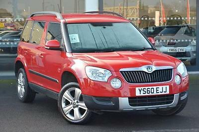 2010 Skoda Yeti 2.0 TDI CR SE 5-Dr Red