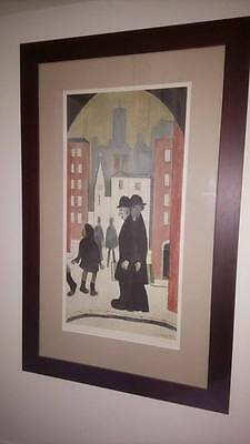 """LS Lowry SIGNED Limited Edition Print - """"Two Brothers"""""""