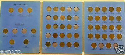 Indian Head Penny Collection - 1869 1870 1871 1873 closed 3 MISSING 11 PENNIES