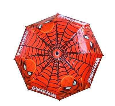 Official Marvel Ultimate Spiderman Boys School Rain Bubble Umbrella Brolly New