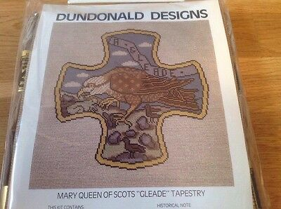 """Anchor Tapestry Kit Mary Queen of Scots """" Gleade """" Tapestry NEW  58 by 50cm."""