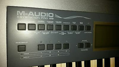 M Audio M88 Pro Keystation Midi