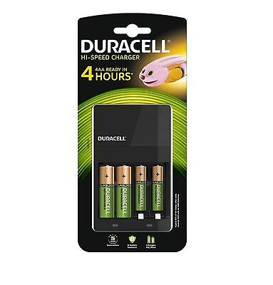 DURACELL - Chargeur Simply Kit démarrage 4 heures + 4 Piles 2 AA - 2 AAA *NEUF*