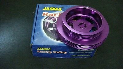 JASMA Aluminum Underdrive Light Weight Crank Pulley Toyota 4AGZE 16V SUPERCHARGE