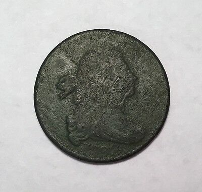 1798 Large Cent dug in Hanover County, VA . COIN8005