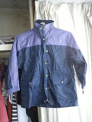 Childs Waterproof Coat Age Approx 8-10Yrs