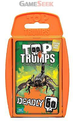 Top Trumps Deadly 60 Card Game - Toys Brand New Free Delivery