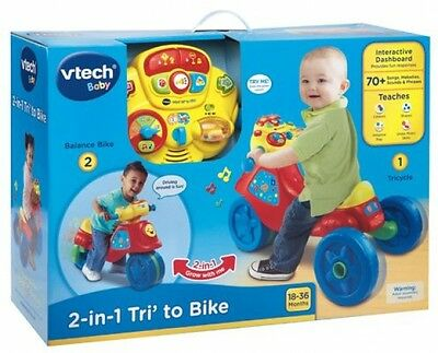 Vtech 2 In 1 Tri To Bike toddler kids boys and girls toy ideal gift