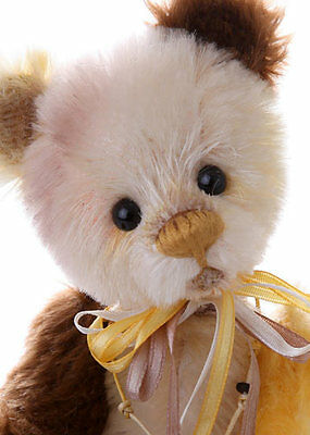 """SALE!! Charlie Bears TIFFIN MiniMO - Isabelle Lee 8"""" Mohair LtdEd MM614888D NEW!"""