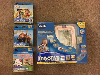 Vtech Innotab 2 Learning Tablet With 4 Games