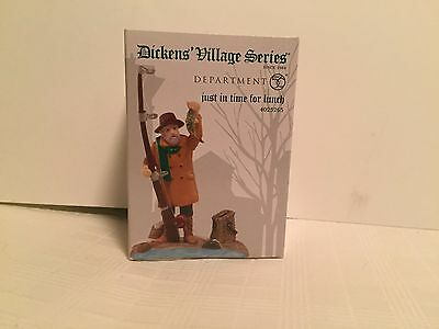 Dept 56 Dickens Village - Just In Time For Lunch