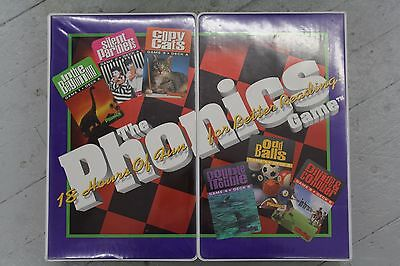 The Phonics Game 18 Hours of Fun and Learning Video Cassettes