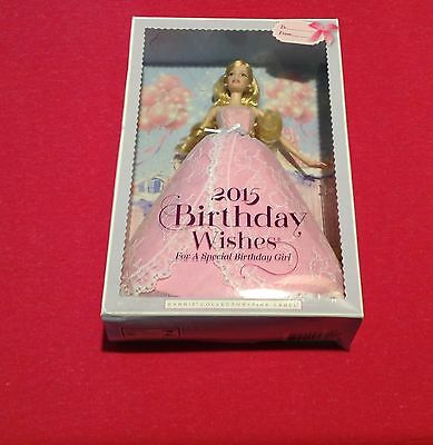 New Barbie 2015 Birthday Wishes Barbie Doll