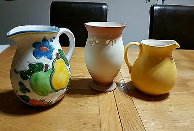 Vase And 2 Jugs
