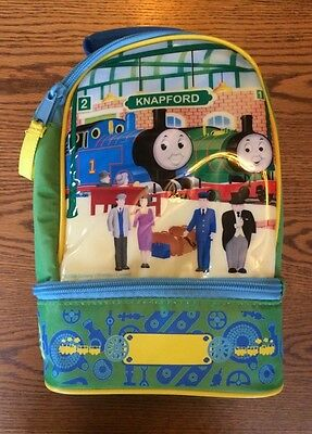 Thomas and Friends Insulated Lunch Bag - Box. Excellent Shape. Green Blue Yellow