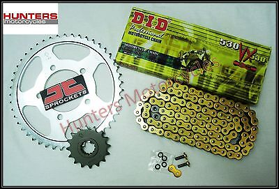 Yamaha FZ1 (2010 Model) DID Gold X-Ring Heavy Duty Chain & JT Sprockets Kit Set