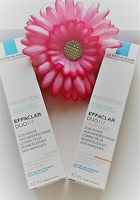 LA ROCHE-POSAY Effaclar Duo+ Unifiant Tinted Light / Medium shade 40 ml Cream