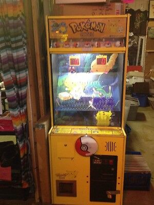 Pokemon Catch Arcade Game ----ORIGINAL ARCADE  GAME !--WORKS GREAT !