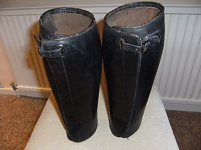 1st WW Army Officers leather gaiters.