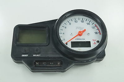 2003 yamaha yzf r6 speedo tach gauges display cluster speedometer 2002 98 99 00 yamaha yzf r6 oem speedo tach gauges display cluster speedometer